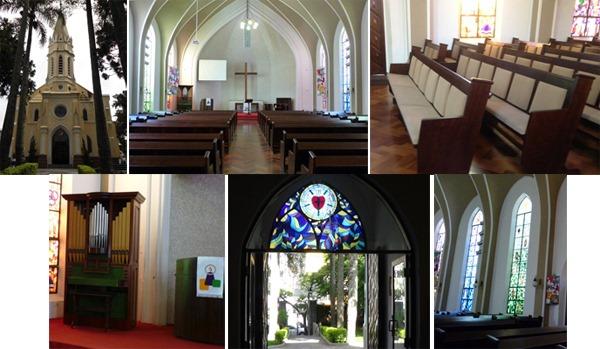 Comunidade Luterana do Redentor em Curitiba. Fotos: Gilson Santos