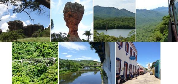 Paraná: Atrativos Naturais e Históricos. Fotos: Gilson Santos