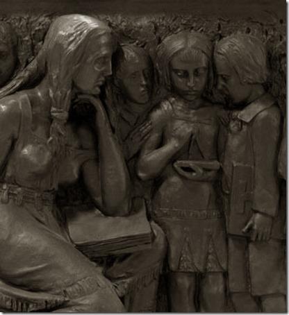 DETALHE: Pedagogia, 1927, João Turin