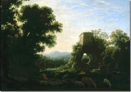 Pastoral Landscape, 1628, Claude Lorrain