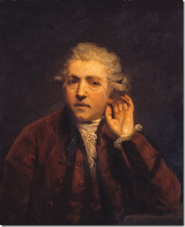 Self-Portrait as a Deaf Man, ca. 1775, Joshua Reynolds