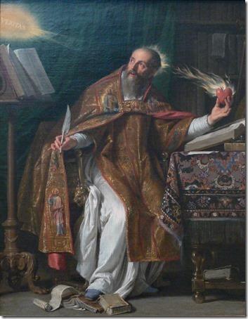 Saint Augustine (Saint Augustin), ca. 1645-1650, Philippe de Champaigne