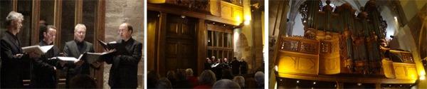 """""""A Oração do Senhor"""", Órgão e Ensemble, Église Saint-Thomas (Thomaskirche), Estrasburgo. Fotos: Gilson Santos."""