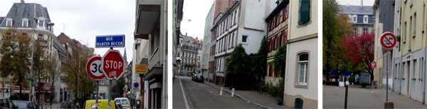 Rue Martin Bucer, Strasbourg
