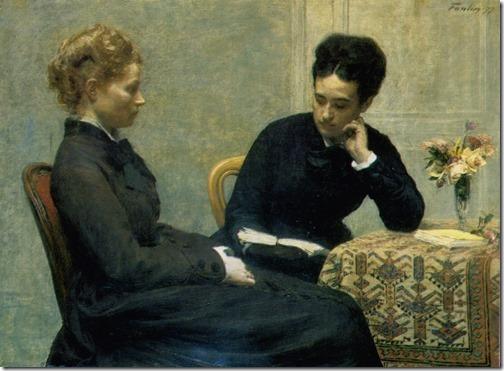 The Reading (La Lecture), 1877, Henri Fantin-Latour