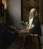 Mulher segurando uma balança – Jan Vermeer