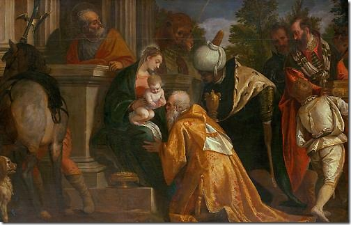 Adoration of the Magi (Anbetung der Könige), 1580/1588, Paolo Veronese