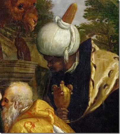 DETAIL: Adoration of the Magi (Anbetung der Könige), 1580/1588, Paolo Veronese