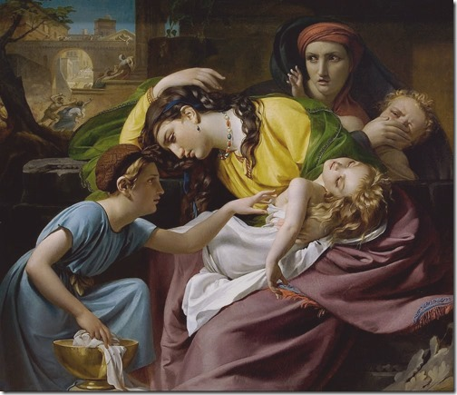 The Massacre of the Innocents (Das Massaker der Unschuldigen /Le massacre des innocents), 1824, François-Joseph Navez