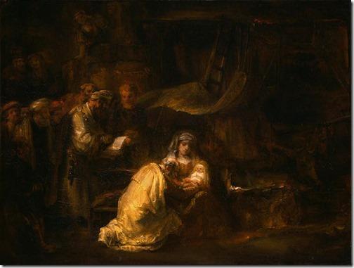 The Circumcision, 1641, Rembrandt van Rijn
