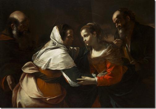 The Visitation, 1640S, Mattia Preti