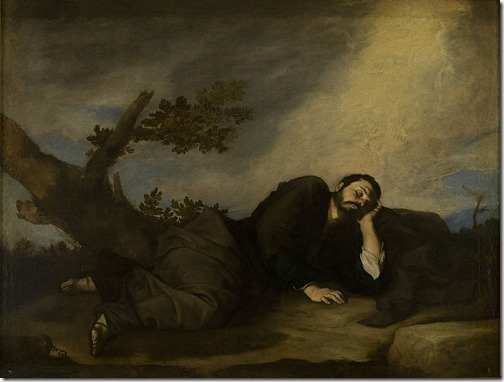 Jacob's dream (El sueño de Jacob / Jakobs Traum), 1639, Jusepe de Ribera