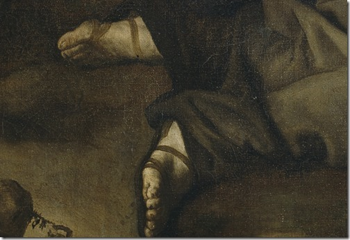 DETAIL: Jacob's dream (El sueño de Jacob / Jakobs Traum), 1639, Jusepe de Ribera