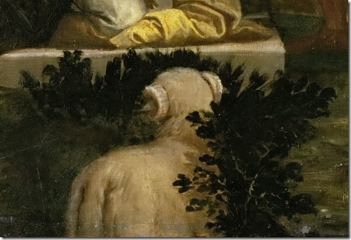 DETAIL: The Sacrifice of Isaac (Die Opferung Isaaks), 1580-1588, Paolo Veronese