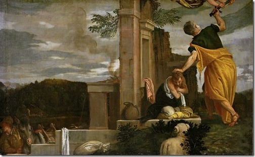 The Sacrifice of Isaac (Die Opferung Isaaks), 1580-1588, Paolo Veronese