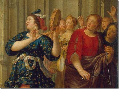 DETAIL: Jephthah's Daughter, ca. 1645, Pieter van Lint