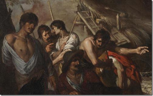 DETAIL: Joseph and his Brothers (José y sus hermanos), ca. 1665, Antonio del Castillo y Saavedra
