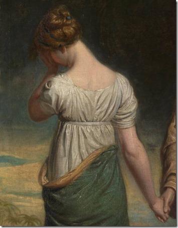 DETAIL: Naomi and her Daughters, exhibited 1804, George Dawe
