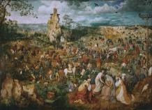 O Caminho do Calvário – Bruegel