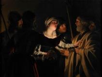 A Negação de Pedro – Gerrit van Honthorst