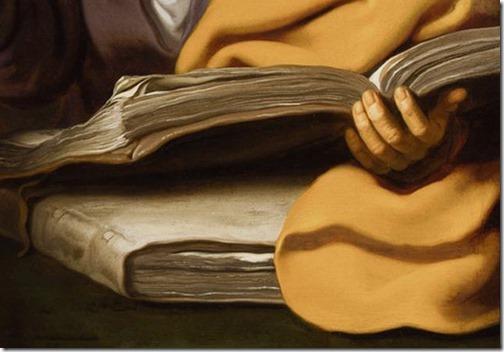 DETAIL: Elisha and Gehazi (Elisa und Gehasi), ca. 1630, Lambert Jacobsz