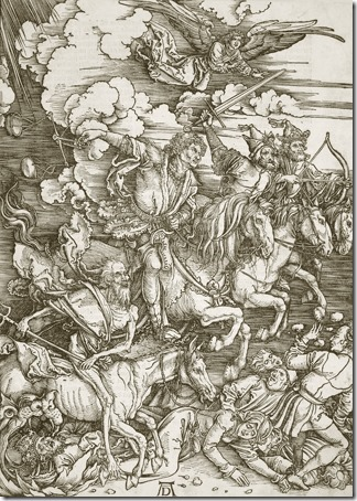 The Four Riders of the Apocalypse, 1498, Albrecht Dürer
