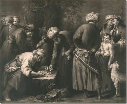 Joseph Sold by his Brethren to the Ishmaelites, ca. 1782, Robert Dunkarton
