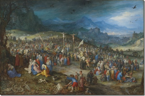 The Calvary (Der Kalvarienberg / Crucifixion of Christ / Kreuzigung Christi), 1598, Jan Brueghel the Elder