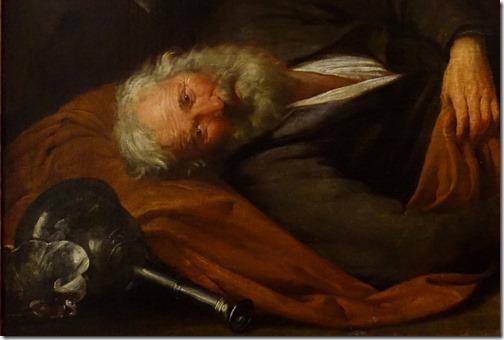 DETAIL: Noah's Inebriation (L'ebrezza di Noè), ca. 1630-35, Giovanni Andrea de Ferrari