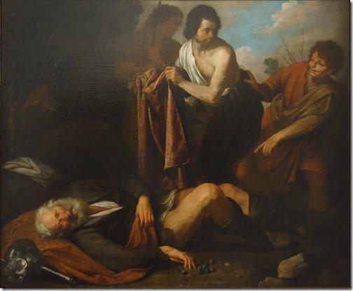 Noah's Inebriation (L'ebrezza di Noè), ca. 1630-35, Giovanni Andrea de Ferrari
