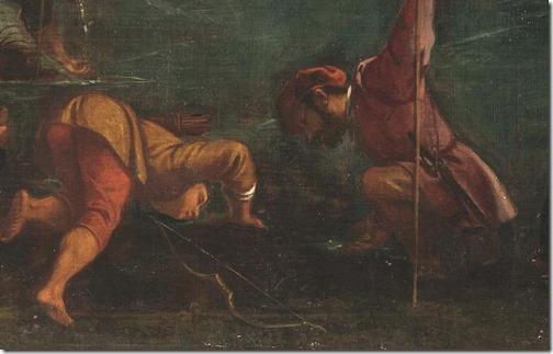 DETAIL: The Soldiers of Gideon (The troops of Gideon / Tropas de Gedeón / Les troupes de Gédéon), 1601, Pedro de Orrente