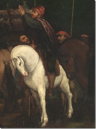 DETAIL: The Soldiers of Gideon (The troops of Gideon / Tropas de Gedeón / Les troupes de Gédéon), 1601, Pedro de Orrente