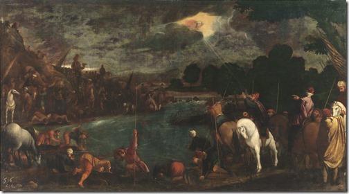 The Soldiers of Gideon (The troops of Gideon / Tropas de Gedeón / Les troupes de Gédéon), 1601, Pedro de Orrente