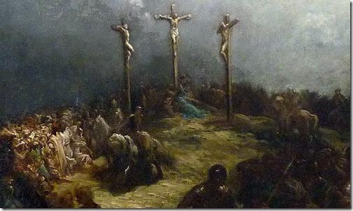 DETAIL: Calvary (The Crucifixion / Le Calvaire / La crucifixion), 1877, Gustave Doré