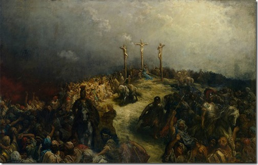 Calvary (The Crucifixion / Le Calvaire / La crucifixion), 1877, Gustave Doré