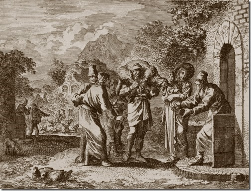 The Parable of the Lost Sheep, 1712, Jan Luyken