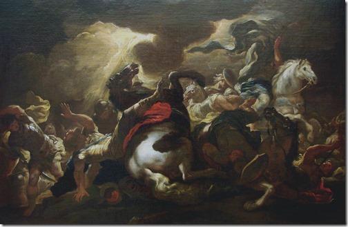 The Conversion of Saint Paul (La conversion de Saint Paul / A Conversão de Paulo), ca. 1690, Studio of Luca Giordano