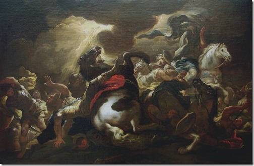 The Conversion of Saint Paul (La conversion de Saint Paul / A Conversão de Paulo), ca. 1690, Studio of Luca Giordano