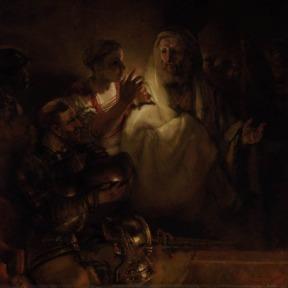 A Negação de Pedro – Rembrandt