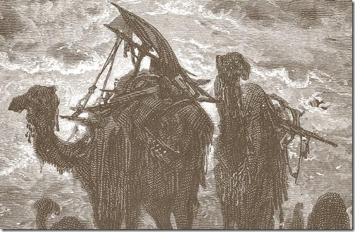 DETAIL: The Prayer of Jacob, 1866, Héliodore-Joseph Pisan, Gustave Doré