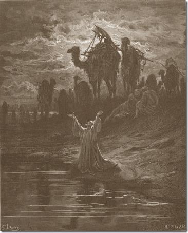 The Prayer of Jacob, 1866, Héliodore-Joseph Pisan, Gustave Doré