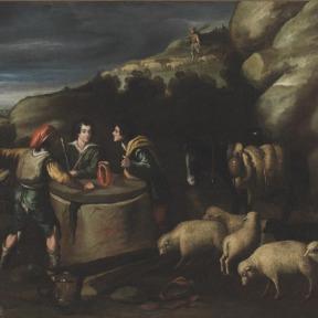 Jacó junto ao Poço – Pedro de Orrente
