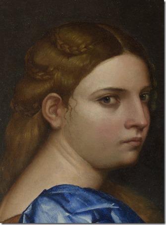 "DETAIL: The Daughter of Herodias (""Salome"" / La fille d'Hérodias / A Filha de Herodias), 1510,  Sebastiano del Piombo"