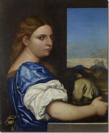 "The Daughter of Herodias (""Salome"" / La fille d'Hérodias / A Filha de Herodias), 1510,  Sebastiano del Piombo"