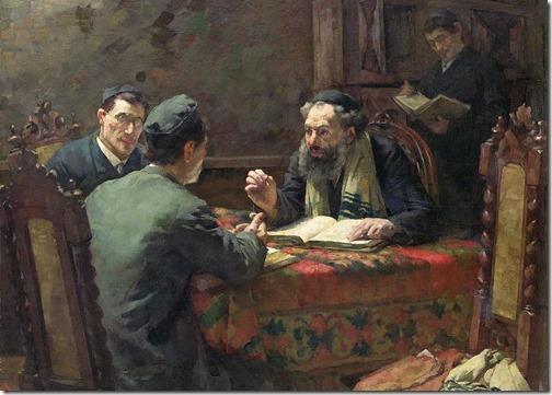 A Theological Debate (Um Debate Teológico), 1888, Eduard Frankfort