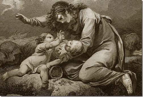 Lamentações – Philippe-Jacques de Loutherbourg