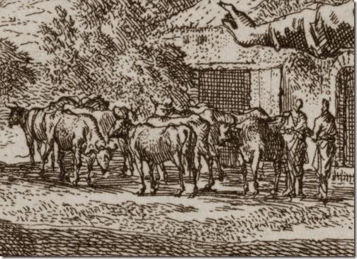 DETAIL: The Parable of the Great Banquet (Invitation to the Great Banquet / Gelijkenis van het grote avondmaal / A Parábola da Grande Ceia), 1712, Johannes Luyken