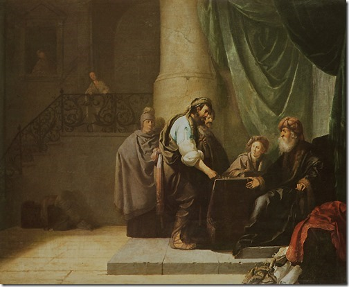 The parable of the talents or minas (A Parábola dos Talentos ou Minas), 17th century, Willem de Poorter