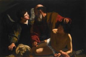 O Sacrifício de Isaque – Caravaggio