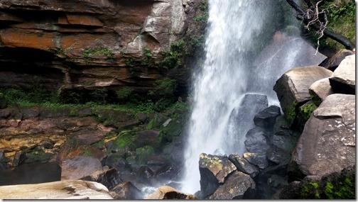Cachoeira do Rio São Jorge, Parque Nacional de Campos Gerais, Ponta Grossa, Paraná, Brasil.